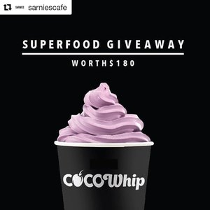 Super Food is all I need after my gym session!  #superfoodhamper  #Repost @sarniescafe with @repostapp ・・・ [CONTEST] We're here to help you chase away the Monday blues. Stand a chance to win a Superfood Hamper (worth $180) packed with healthy goodies from @cocowhipsg and Sarnies. All you have to do is follow @sarniescafe and @cocowhipsg on Instagram, repost this photo on your account, mention us and tag a friend you'd like to share this #superfoodhamper with! Make sure your account is public to take part. ---- The winner will take home goodies (worth $180!!) - $50 Cocowhip Credit at Sarnies (Telok Ayer)  6 pack of Just Picked Coco (Coconut Water)   12 Vegan Chocolate Bars   12 Vegan Superfood Bars --- Contest will end on 7th April 2017. Good luck everyone!