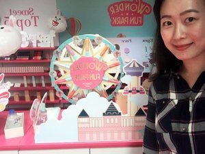 What a lovely Wonder Fun Park 💕  #ETUDExCanonsg @etudehousesingapore @exilimsg