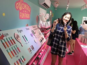 I love the brush 💚💜💛 #ETUDExCanonsg @etudehousesingapore @canonsingapore