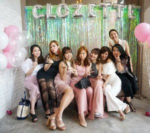 With the girl squad at @clozetteco's Tea Party 2017 yesterday! Congratulations #Clozette on your successful revamp and looking forward to experiencing all the exciting new plans ahead! ❤ More snaps on my insta stories! 😘💋🎉 #MyNewClozette #ClozetteAmbassadors #ClozetteStyleParty