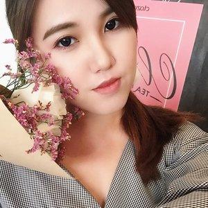 Blush 🌸 #fleuristesg #cleoxfleuriste #cleo @clozetteco #mynewclozette #clozette #clozetter #makeup #igsg #selfie #kbeauty #koreanmakeup #ootdsg #beautyblogger #rose #enjoyingthemoment #etudehousesg #etudehouse