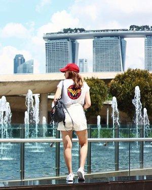 W O N D E R W O M A N 😜💁🏻✨💥😎💪🏻 . . . . #ootd #clozette #coordinatesoffrisbee #youthenchildish #lookbook #lookbooksg #singapore