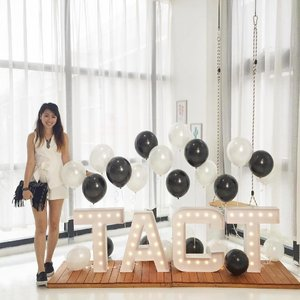 #SLATEbyTACT, a local fashion label with self-manufactured fashion pieces owned by the sweet @aggylow! A monochromic collection【Je Ne Sais Quoi】coming to you tomorrow, at 8pm. Thank you @tact.sg and @honeyzpainthouse for the preview party! 🙌🏼✨ P.S. Romper from #LoveBonito and clutch from #ASOS. . #Clozette #fashion #stylexstyle #fashiondiaries #fashion #outfitoftheday #outfit #ootdasia #ootdsg #ootd #lotd #lookoftheday #wiwt #wiwtsg #whatiwore #whatiworetoday