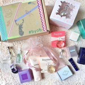 A brand new week I'm gonna spend in Berlin with these cute fragrance minis from @byobshop! Curated and decorated my own beauty box at #Luxasia's very own pop-up store at @sunteccity #01-505! Go check it out and #BuildYourOwnBox too! 🎁 #clozette #makeup