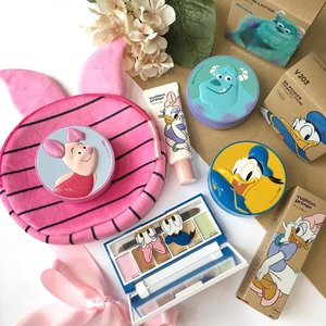 Waking up to my cutie has got to be the best thing on earth! And to these @disney_sg cuties too by @thefaceshop_sg! 😍 From a Cushion Primer, to a Concealer Palette and the cutesy BB Cushions, you can't miss this! 🙌🏼 #clozette #makeup
