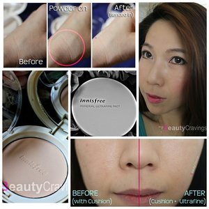 My new love - Innisfree Mineral Ultrafine Pact 😍 Rating 5/5 ☆☆☆☆☆ 8 Reasons how she won my 💖 ➡ mybeautycravings.com  #clozette #mybeautycravings #innisfree #powder #pressedpowder #makeup