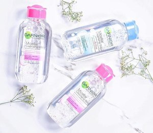 Anyone up for a fun giveaway? 🤗Details up on how you can win these 3 brand new Garnier Micellar Cleansing Water (125ml each) from @hermomy 😉From now until the 30th of October 2016, all deets are listed in the link above for reference 😘✨ Best of luck! 💖#hermoxpenmyblog #garnier #garniermicellarwater #hermomy #clozette