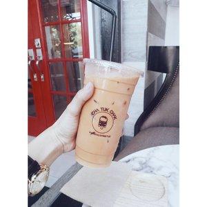 Cravings *sigh* x_x  #thaimilktea #chatukchak #kikaysikateats #clozette #clozetteco #beautybloggerph @chatukchakph