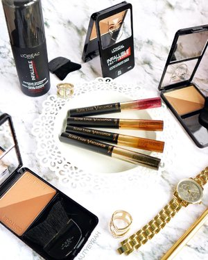 A lil sneak peak into the new @lorealmakeup products that will be launching over the next few months! 👀 Spot anything you like? I have been trying these out so do keep a look out for reviews and swatches #ontheblog ! Thank you #lorealparissg for having me that night 💋...#lorealsg #lorealmakeup #clozette #lorealparis #drugstoremakeup