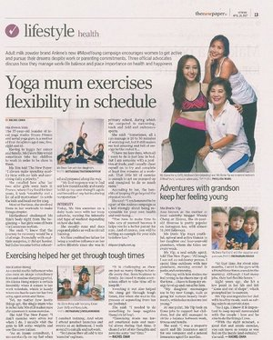 [Media Collaboration]  Have you grab a copy of The New Paper today? 😊 Read about me and the other two @AnleneSG #MoveYoung Advocates and how we embrace life, regardless of age or challenges. 💪 . . . . . . **************** The Anlene MoveYoung campaign was created with the aim of encouraging women to move as young as they feel on the inside, no matter their age or life stage. To help women to do so, Anlene is providing them with the physical and emotional support to boost their mobility and confidence. 😊👍 . . . . . . . . . . . . . . #advocate #AnleneSG #active #media . . . . . . . . . #imageconsultant #instasg #potd #igers #singapore #fashion #lifestyleblogger #clozette #starclozetter #sgblogger #fashionblogger #beautyblogger #lifestyle #picoftheday #sg #stylexstyle #travelblogger #iamtb #fashionstylist