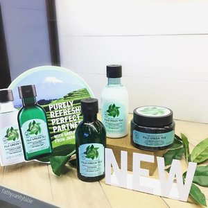 #TheBodyShop launches NEW Fuiji Green Tea Haircare range 🍵. Unique 🌟 product : Cleansing Hair Scrub! It works like a purifying hair masque being massaged into the scalp and like a regular shampoo to cleanse the rest of your hair ends. Refreshing, minty scent that makes you want more! 🌿 . Out in @thebodyshopsg stores tomorrow, 13 July! Check my #IGStory to see what went down at their lovely launch event yesterday! Thank you @thebodyshopsg and @wom_sgpr for having me! 🍵 . #Thebodyshopsg #haircare #clozette #hairgoals