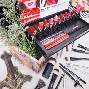 [BLOGGED] L'Oréal Paris Makeup Designer Infallible Le Rouge, Lip Liner, Makeup Brushes Review and Demo. #linkinbio . #clozette #infalliblelips #LorealParisSG