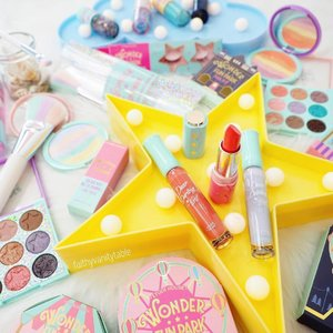 [BLOGGED] 🎡Etude House Wonder Fun Park Collection: Review, Swatches, #LOTD.  For those lucky ones enjoying term break this week, this is one theme park your inner beauty junkie will NEED to visit & never want to leave! Check it out at Wisma Atria L2 Outdoor Atrium, until 16th Mar. Meanwhile, read my blog & drool over the pretties! 💖👉🏼#linkinbio  #clozette #etudehousesg #etudehousesingapore #makeup