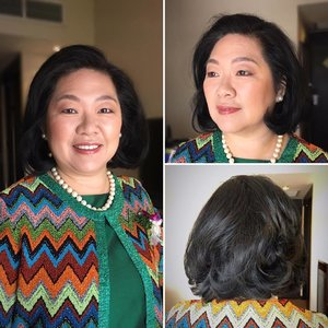 Had a lovely time glamming up the #motherofthegroom! Blessings and joy to your son and new daughter-in-law! #browneyeshadow #mothermakeup #mommakeup #mums #sgwedding #weddingmakeup #classy #voluminoushair #formalmakeup #polished #sgmua #hmua #sgig #igsg #sgmakeup #bridalmakeup #igsgmakeup #fotd #sgigmakeup #bridestory #weddinginspo #eotd #bridalinspo #blissfulbrides #sgbrides #clozette #makeup #hairspray #lillianlouiemakeup