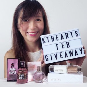 Time for another #ktheartsgiveaway! 🎉 Sorry it's so late, only posting this when Feb is ending. I have been swamped with wedding preparations! 🌟Anyway, keeping to my plan of holding a giveaway for my followers every month; for this month of February I'm giving away 3 scents to 3 winners! 💋- #EtudeHouse #PinkSkull Colourful Scent Eau De Perfume 50ml- #Hollister Wave For Her Eau De Perfume 30ml- #Burberry Body Milk Eau De Perfume 35mlJust tell me in the comments below, which you want to win and why! Then tag 3 friends. 👯 Good luck!Giveaway contest ends on 3rd March. Giveaway/fake accounts will be automatically disqualified. Prizes to be collected at Sembawang/Orchard mrt to my convenience.#giveawaysg #sggiveaway #sggiveaways #sgcontest #clozette #clozettedaily #sglifestyleblogger #sgbloggers #giveawayalert #eaudeperfume