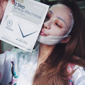 I've been using these REGEN 2-STEP MASKS as well as the REGEN PLASTIC SOLUTIONS MASKS regularly especially during this period of prepping for CNY and after.I'm very fond of the REGEN 2-STEP MASKS because its comes in two separate piece where the lower sheet is a gel mask that's design to give your skin lifting effect as well as skin elasticity, talk about getting the best of both world!If you want a full sheet mask then you can opt for REGEN PLASTIC SOLUTIONS MASKS that is like the regular sheet mask that you enjoy! I use this on days especially after exfoliating my skin. Retailing in all SASA Singapore outlets:✨REGEN 2-STEP MASKS comes in 4 types  contains 5 sheets in each box ($ 45.40) ✨REGEN PLASTIC SOLUTIONS MASKS 5 types contains 10 sheets in each box ($ 54.80)Masks like these are always the best to carry along or if you need a quick pick me up! Comment below if you want have other enquiry that you would like to know about this mask!#mfp #regen #regenmask #facemask #mask #sasasg #sasa #clozette #sgbeauty #myfatpocket #CTMonde2017