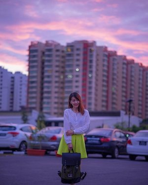Beautiful sky with @gastonluga 😍 📷simontey #clozette #fashion #fashiondiaries #fashionblogger #ootd #ootdsg #explore #outfit #girl #igdaily #igers #sgblogger #today #portrait #vscocam #photography #sonyimages #lookbook #lights #lotd #claireaudreyootd #asian #naturallights #anywherewithgl  #sunset