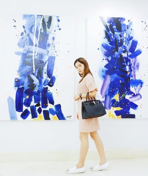 """""""Art washes away from the soul the dust of everyday life."""" Pablo Picasso 👜 : @cleofeboutiqueph"""