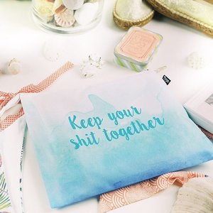 I love the #keepyourshittogether 3-in-1 travel bag from @typoshop where there is a sturdy bag for my clean stuff, another bag for shoes or dirty laundry & one for my toiletries. How very creative & thoughtful of them!💕💕💕 . . . . We also met other awesome brands at the event such as the Spanish swimwear & espadrilles brand, @coteandbadt 💕 Bali luxury hotel in Seminyak, @lhotelsresorts & beautiful chic bikinis from @augustsociety 💕 To celebrate their 1st birthday, enjoy 20% off all bikini styles when you shop at their online using code ASBDAY01 till 2 May 2016. 💕 . . . . . #vacation #instatravel #travelblog #beachlife #traveling #globetrotter #wanderlust #travelgram #travel #igtravel #travelbloggers #tourist #clozette #instasg #flatlay #beachwear #jetsetter #augustsociety #blogmeetsg #lostguidesbali #typoshop #coteandbadt #lhotelsresorts #finepalatesg #dailyjuicesg #houseofsheens