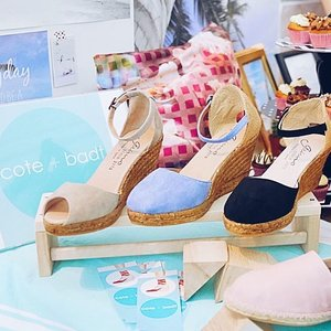These chic espadrilles from @coteandbadt are made in Spain using top quality materials & inspired by global travels...❤️💙💜 . . I love their sparkle espadrilles and platform espadrilles!💕 . . We also met other awesome brands at the event such as gift & lifestyle shop @typoshop ,  Bali luxury hotel in Seminyak, @lhotelsresorts & stylish bikinis from @augustsociety 💕 . . . . . #vacation #instatravel #travelblog #beachlife #traveling #globetrotter #wanderlust #travelgram #travel #igtravel #travelbloggers #tourist #clozette #instasg #flatlay #beachwear #jetsetter #augustsociety #blogmeetsg #lostguidesbali #typoshop #coteandbadt #lhotelsresorts #finepalatesg #dailyjuicesg #houseofsheens