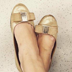 My choice of Ferragamo varina for the day 👠 #shoefie #shoeaddict #clozette #fashion