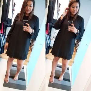 Cute dress from #Warehouse ❤  __  #whatiwore #ootd #blackdress #blackdress #fashion #style #clozette #clozettesg #Singapore #instagood #instadaily #sgvlogger #ootdsg