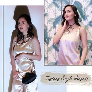 """Had a golden time at the recent #ZaloraStyleAwards 2017 ❤ Congratulations to all the winners! Use my code """"BZAPCHESSY"""" to enjoy 15% discount on your purchase when you shop at @zaloraph 💋