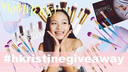 """<div class=""""photoCaption"""">Good morning guys 💛 Hoping you all could drop by my youtube channel and join my Instax Mini+Unicorn Brushes+More Giveaway (4 Winners)! Link on my bio 😘 (ps. This photo is the one to be regrammed!) #hkristinegiveaway #clozette</div>"""