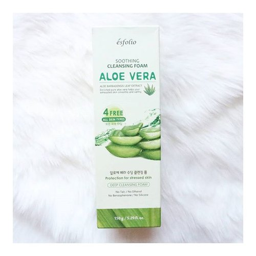 "<div class=""photoCaption"">What's my new favorite cleanser? Read my review on the @esfolio_philippines  soothing aloe vera cleansing foam on www.makeupinmanila.com ❤  link in bio ❤  #clozette</div>"