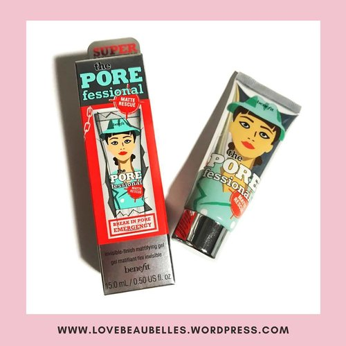 """<div class=""""photoCaption"""">Mini Review on Benefit's The Porefessional Super Mattifying Gel . . 🎀 CLAIMS: Lightweight, water-based gel overpowers shine and absorbs excess surface oil, leaving a natural-looking matte finish. Blended with diamond powder known for its soft-focus blurring effects, matte rescue instantly minimizes the look of pores. . . 🎀 THOUGHTS: -Packaging is very unique, fits the Benefit aesthetic. 👌👌👌 -Really has a water-based gel like texture, easy to blend on the face, not sticky at all. -I don't really feel it's mattifying effects. In fact, I don't see the difference if I use this under my base makeup or not. It does not overpower much of the shine on the face. :( -Very pricey for such a small product! This is worth P700.00 for a 15 mL product. -However, I really like the scent! It smells like fresh floral perfume. . . 🎀 Would not recommend 😕 There are surely a lot more mattifying pore filling primers out there that are cheaper and more effective. . . . . #LoveBeauBelles #beautyblogger  #beautycare #beautybloggerph #beautyblog #beautyguru #beautytips #beautyproduct #instabeauty #beautyvlogger #bblogger #makeup #makeupartist #makeupaddict #makeupjunkie #makeuplover #makeupforever #makeuprevolution #instamakeup #travelblog #travelblogger #travelblogph #tblogger #instatravel #travelgram #adventure #traveldiaries #instagood #photooftheday #clozette</div>"""