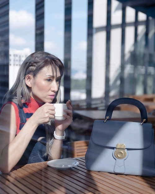 "<div class=""photoCaption"">Coffee with the morning sun on my chic Slate Blue DK88 Bag. How's your morning so far? ... Read more about my life With Burberry #TheDk88bag on my blog now (link in bio @stilettoesdiva) . . #DivaLovesBurberry #ootd #outfit #burberry #dk88bag #outfit #accessories #handbag #fashion #fashionpost #fashionista #fashionblogger #blogger #coffeerun #style #itsmylife #blue #instafashion #clozette #kualalumpur #goodmorning</div>"