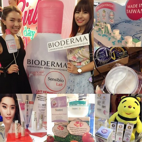"""<div class=""""photoCaption"""">To celebrate their 27th anniversary, @watsonssg is hosting a week long beauty fair at NEX Atrium! 🎊Beauty fans rejoice as you get to enjoy many promotions and new product sampling.😊✌️ Here's Charissa and I at the #BIODERMA booth as they launch their new Sensibio Lait, a lightweight milk based cleanser. 👭Also featuring Taiwan brand #Divinia's triple action hydration skin care, #BioEssence travel friendly day & night cream in one jar, #ManukaDoctor's skincare with purified bee venom🐝, aka Nature's Botox💉, #Himalaya's Revitalizing Night Cream with a wonderful white lily scent ($14.90 now on $4 off in stores!) & #Vichy's Ideal White skincare range, Charissa recommends their thermal mist facial spray that gives a mattifying effect perfect for ladies with makeup, am gonna give this a try soon! 👌#clozette #WatsonsGDO</div>"""