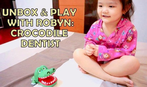 """<div class=""""photoCaption"""">Have you seen the newest episode of #itsrobynhere ? Head over to my youtube channel and my blog to watch #oliviarobyn  unbox and play with her #crocodiledentist ! #mommyblogger #momblogger #yellowmum #mommybloggerph #mombloggerph #yellowyum #msyellowyum #lifestyle #lifestyleblogger #blogger #manilablogger #lifestylebloggerph #youtube #youtuber #youtuberph #clozette #vlogger #vloggerph #pinayvlogger #bloggerph</div>"""