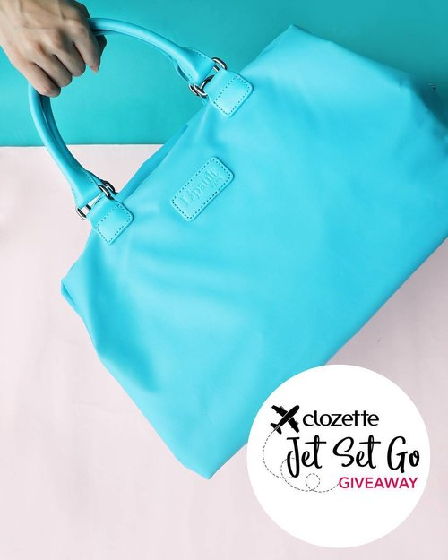 "<div class=""photoCaption"">JET, SET, GO! WEEKLY GIVEAWAY: Win a #LipaultParis Riviera Blue Bowling Bag worth SGD150! Because hey, your carry-on bag can be as stylish as it is practical too!  All you have to do is: 1. FOLLOW @clozetteco on Instagram, 2. LIKE this photo, 2. COMMENT and tell us your personal travel tip, 3. Simply TAG a friend to stand a chance to win! *Giveaway runs from now till 29 June 2017 (11:59PM), and is open to residents in Singapore, Malaysia, and the Philippines. #Clozette #Lipault</div>"