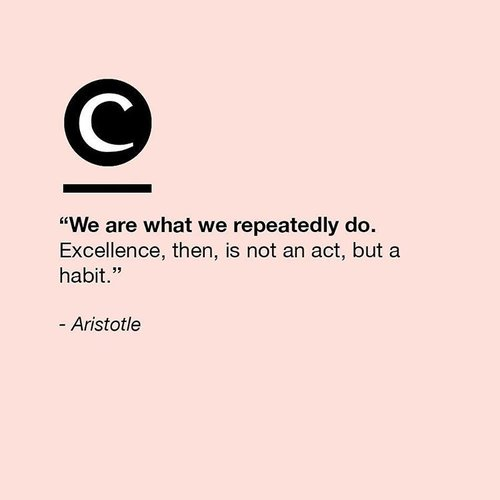 "<div class=""photoCaption"">Cultivate good habits that are hard to break. Happy Monday, ladies! #Clozette #ClozetteQuotes</div>"