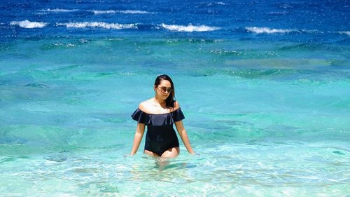 "<div class=""photoCaption"">Can't wait to hit the beach again! 💙☀️ #clozette #laineeinpalawan #laineetravels</div>"
