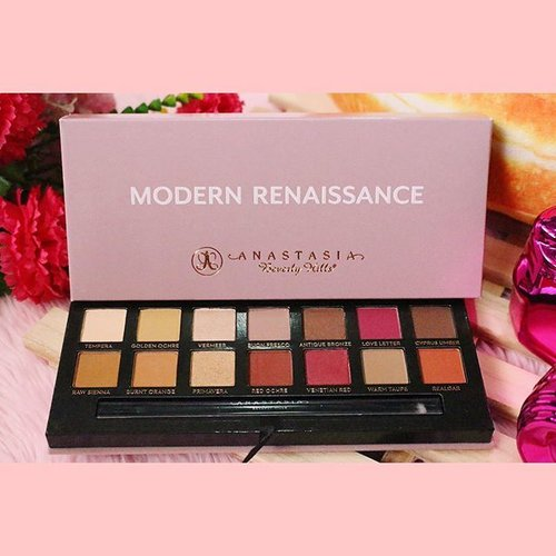 "<div class=""photoCaption"">My review + swatch + looks on the @anastasiabeverlyhills modern renaissance palette is now up on the blog. 😘💓 Check 🔹www.bloominzahra.com🔹 for details of my review! 😄Love love love this palette sooo much ❤️ Please swipe to see swatches 😉 #modernrenaissance #anastasiabeverlyhills #clozette #bloominzahra . . . . #beauty #beautyblogger #makeup #makeupgeek #flatlay #blogger #bloggers #fblogger #fbloggers #lifestyle #lifestyleblogger #igers #igersmanila #dubaiblogger #uaebloggers #instagood #instagramers #instabeauty #makeuplover #beautyblog #bblogger #bbloggers</div>"
