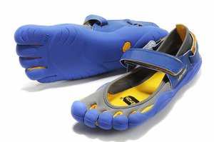 Vibram Five Fingers Sprint Cinder/Yellow/Blue Men's