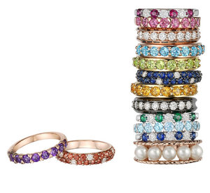 Goldheart Jewelry Celebrates 39th With Colourful Rings