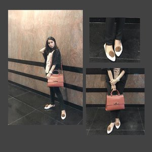 Hello wednesday! Shoes & Bag by @redwineshoes . . #redwineshoes #clozetteid #clozetteidreview #redwinexclozetteidreview