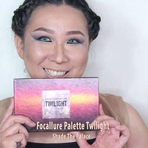 Hi, here's a mini tutorial for makeup i've done couple weeks ago. I am using #pantone2018 color for my eyes, since ultraviolet is one of my fav color 😘..Base : @maybelline #maybellinefitme, @ran_cosmetic Pressed Powder..Contour @katvondbeauty Shade Light Contour Palette..Highlight @focallure Twilight Palette - shade the palace..Eyes @nyxcosmetics_indonesia Beauty School Dropout 101 Mini, Ultimate Shadow Palette Bright @hudabeauty Electric Obsession Palette..Eyeliner @wardahbeauty EyeXpert Optimum Hi Black..Softlenses #soloticaazul..Lips @nyxcosmetics_indonesia Lingerie lace detail + exotic.......#hairmakeupdiary #makeuptutorialsx0x #linerandbrowsss #fakeupfix #dailygirlsfeed #universomakeup #stylevideo #videosfashions #makegirlz #wakeupandmakeup #hudabeauty #bretmansvanity #maquiagem #anastasiabeverlyhills #brian_champagne #hairofinstagram #makeupforbarbies #allmodernmakeup  #makeupartistsworldwide #fdbeauty #clozetteid #smokeyeyetutorial #nyxcosmeticsid #focalluremakeup #indobeautygram #ivgbeauty #indovidgram