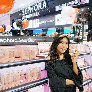 Congratulation grand opening @sephoraidn Mall Taman Anggrek, here you can find Bvlgari Goldea Rose🌹 #sephoramta #sephoraidn #sephorabeautyinfluencer