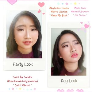 Party Look vs Day LookJadi, eyelook nya tetep sama kok untuk 2 look ini, yg membedakan hnya dari warna lips nya aja 💋 ..Product used:@minisoindo glow clear protection cream (vanilla)@maybelline fit me foundation (normal to oily-120 classic ivory)@maybelline fit me concealer (fair & sand)@mineralbotanica acne care loose foundation (rose)@makeoverid eyeshadow palette nudes (hot stone, espresso, caviar - concealer (fair) - copper, champagne - ivory frost for eye's highlight and all highlight in face)@makeoverid face contour kit@makeoverid blush on single (promoscious pink)@mizzucosmetics eyeliner pen (black)@forher.lashes fake eyelashes (smart type) .Lips 💋 product used:Party Look:@saintbysandra from @resellersaint.sbyyemima (saint michel)Day Look:@maybelline powder matte lipstick (make me blush)@makeoverid melted metallic lipcream (301 stellar) ..#AforAlinda #A #alindaaa #alinda #alindaaa29 #ClozetteID #byalindamakeup @beautycollab.id #BeautyCollabID  @beautiesquad #beautiesquad  @beautygoers #beautygoersid @beautychannel.id #beautychannelid@kbbvbyacb #kbbvbyacbFeatured@beautybloggerindonesia #beautybloggerindonesia @bloggirls.id #BloggirlsID @setterspace #setterspace
