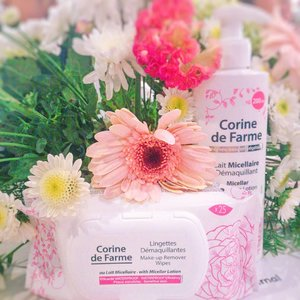 Newest products from @corinedefarme_id !  #BeautyJournal #corinedefarmexbeautyjournal  #CorineDeFarme  #BeautyJournal  #MicellarLotion #MicellarWipes #beauty  #instamakeup #skincareproduct #wakeupandmakeup #beautyblogger #skincare #instagood #instabeauty #hairstyle  #ilovemakeup #clozette #clozetteid  #facialtreatment #healthyskin #bareface #ad  #sp  #TasyaSkincareRoutines