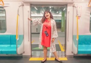 Another footage at trial #MRTJAKARTA taken by @budiartiannisa 📸  #mrtjakarta #ubahjakarta #ubahjakartachallenge #clozette #Clozetteid #ootdindo #outfitoftheday #lookoftheday #fashion #fashiongram  #clothes #wiw  #instafashion #outfitpost #ootdfashion  #ootd #todaysoutfit #fashiondiaries #travelling #traveller #travelblogger #staycation #cityexplore