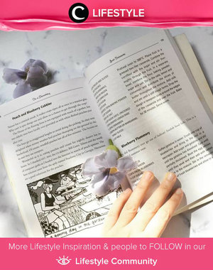 Reading a cooking book and choosing recipes to cook this weekend is one of mind-healing things for Clozetter @HattaShani. Do you think the same? Share your mind-healing moment with Clozette in Lifestyle Community. Anyway, Happy Mother's Day to all cool Moms out there!