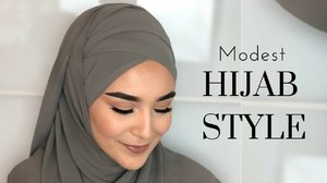 Gorgeous Modest Hijab Tutorial - Hijab Fashion Inspiration