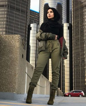 Sweat suits sporty hijab styles – Just Trendy Girls