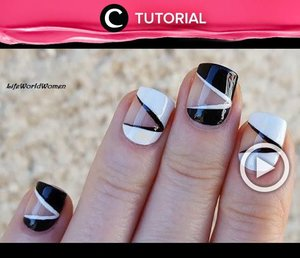 Percantik kukumu dengan Negative Space Nail Art. Intip tutorialnya di : http://bit.ly/2Qdw6dJ . Video ini di-share kembali oleh Clozetter @salsawibowo. Initip tutorial lainnya di Tutorial Section.