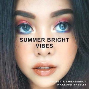 Nggak harus dengan eyeshadow warna gold dan silver, kamu bisa menciptakan tampilan makeup glam dengan warna-warna cerah juga, lho. Yuk, intip inspirasi dari Clozetters melalui video di atas. #ClozetteID #ClozetteIDVideo